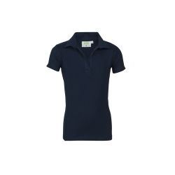 Stretch-Poloshirt short sleeves, without buttons, Girls